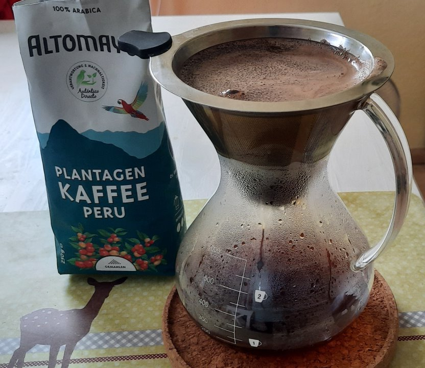 Altomayo Plantagen Kaffee Peru
